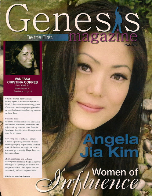 Featured in Genesis Magazine