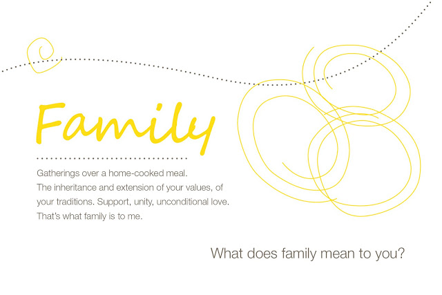 what does family means to you essay What does home mean to you where you can help each other as a family it does not matter how big or home means a new chapter in my family's lives.